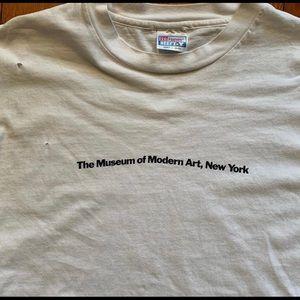 Vintage moma museum of modern art tee
